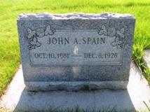 John Spain Grave